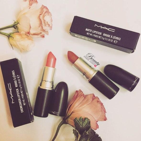 [REVIEW] MAC LIPSTICK/ Son MAC Matte Mehr và Creamsheen Pink Pearl Pop