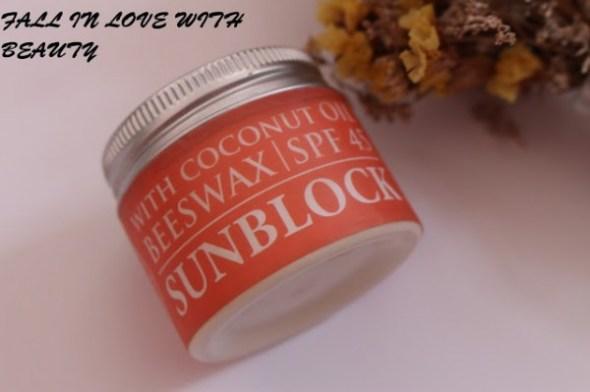 Kem chống nắng vật lý Green Garden Sunblock Cream spf 45