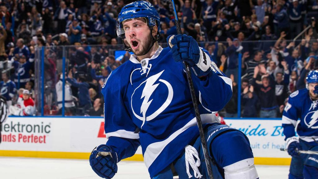Lightning resign Nikita Kucherov to 3year contract  NHLcom