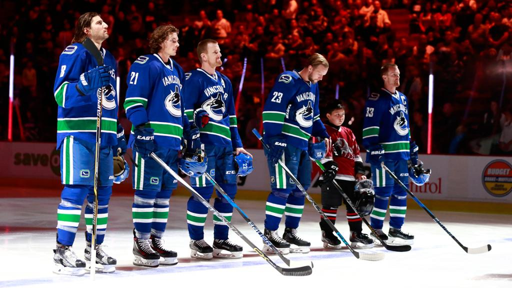 Canucks Set Opening Night Roster