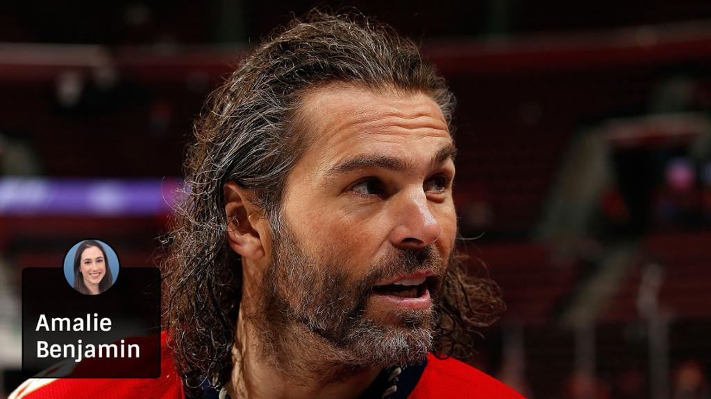 Jaromir Jagr Defies His Age In Younger NHL