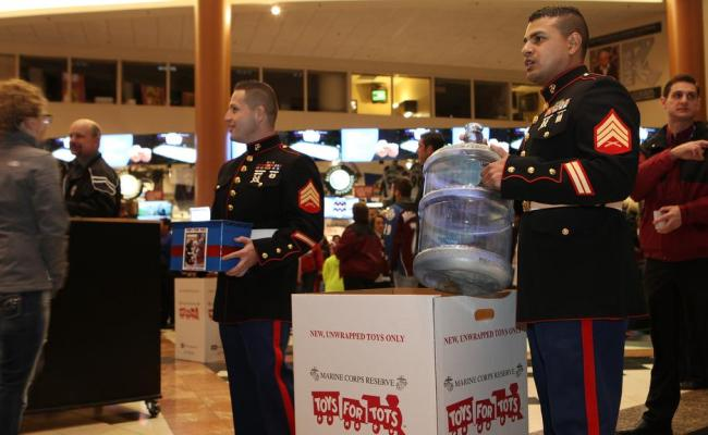 Toys For Tots Collection Saturday Nhl
