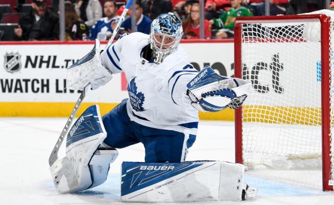 Frederik Andersen Won T Start Tuesday For Maple Leafs
