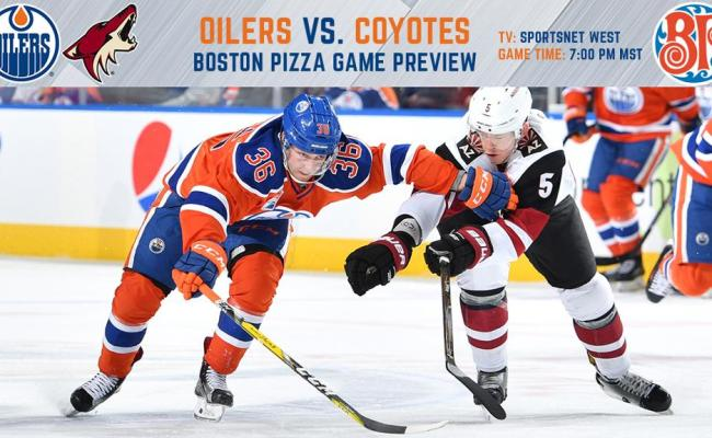 Preview Oilers Vs Coyotes Nhl
