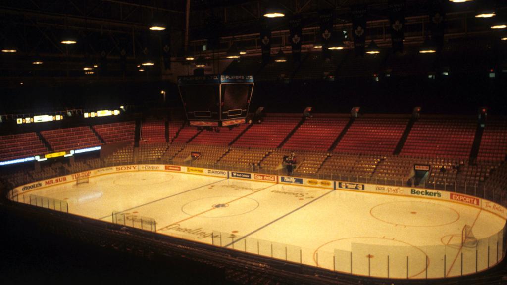 Toronto bids farewell to Maple Leaf Gardens  NHLcom