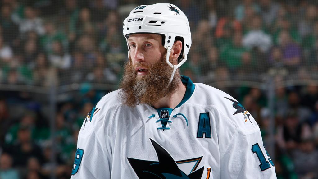 Joe Thornton Of Sharks Leaves Game