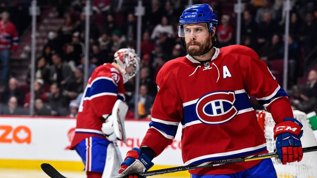 Shea Weber Of Canadiens Out At Least Two Games
