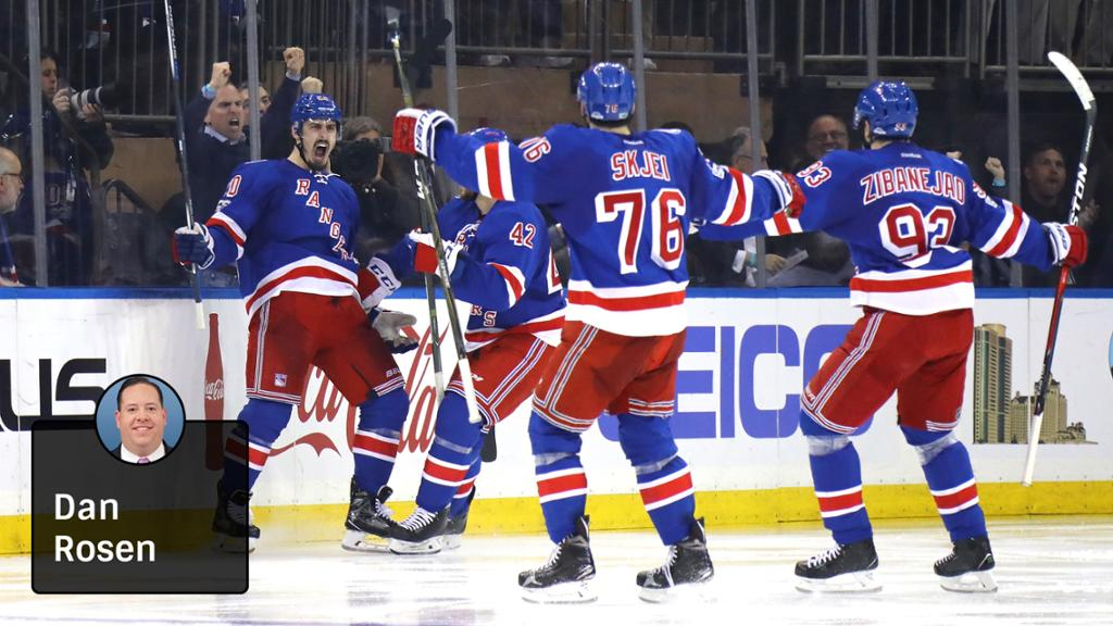 Rangers Believe They Can Compete For Stanley Cup