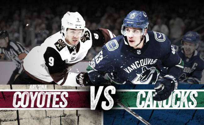 Canucks Vs Coyotes Game Notes Nhl