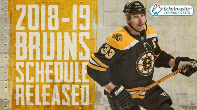 Image result for boston bruins 2018-19 schedule