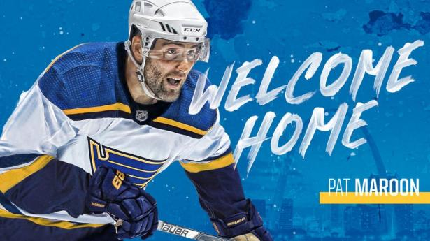 Image result for pat maroon blues