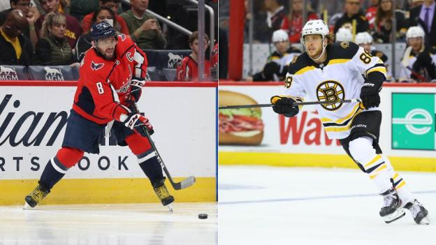Ovechkin, Pastrnak matchup highlights Bruins-Capitals showdown