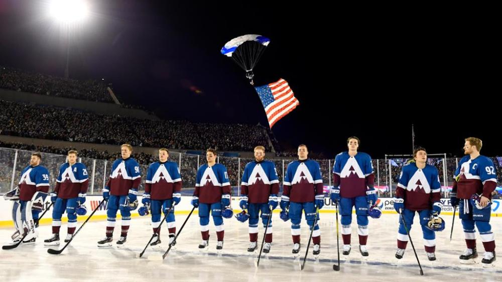 Avalanche Auctions Off One-of-a-Kind 2020 Stadium Series Jerseys