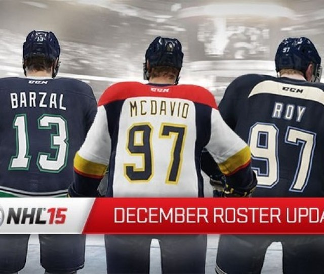 The December Roster Update For Nhl 15 Is Now Available For Download On All Consoles Weve Updated Rosters To Reflect The Current Lineups In The Nhl
