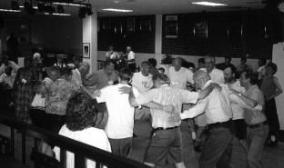 Dancing at Martys