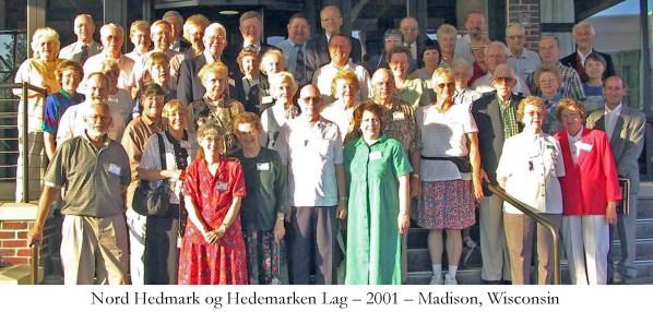 Nord Hedmark og Hedemarken Lag 2001 Madison Wisconsin