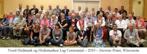 Nord Hedmark og Hedemarken Lag Centennial 2010 Stevens Point Wisconsin