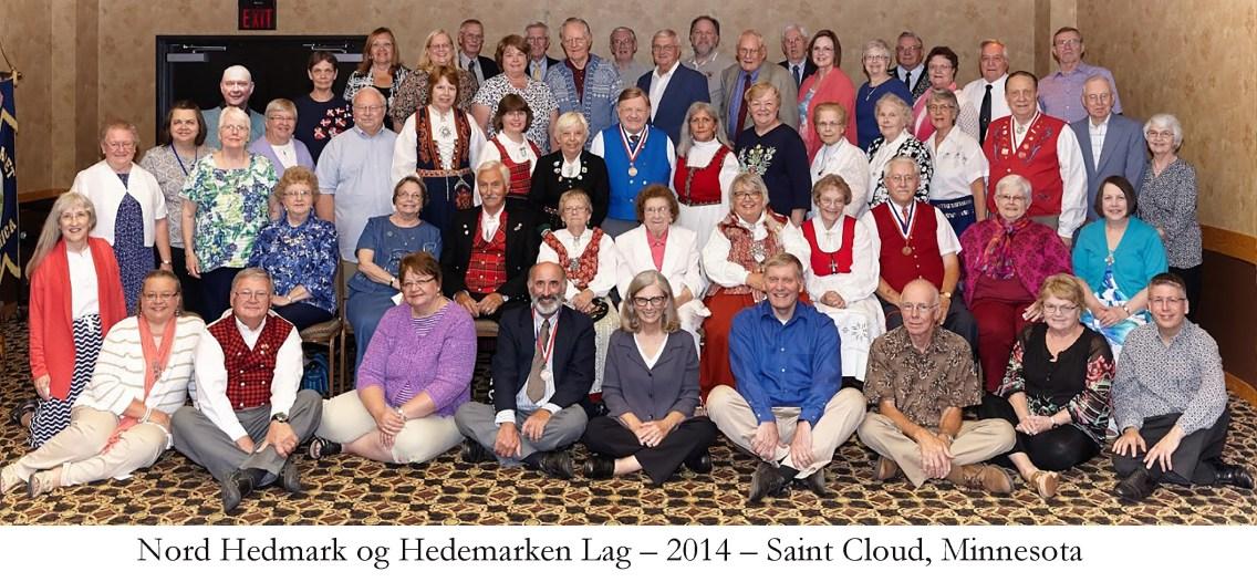 Nord Hedmark og Hedemarken Lag 2014 Saint Cloud Minnesota