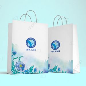 nhận in túi giấy cho công ty Vạn Xuân