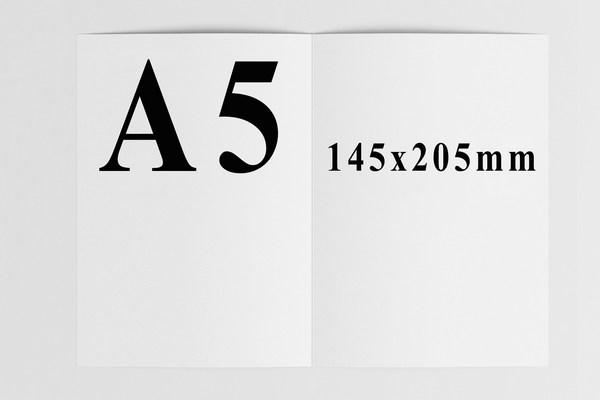 kích thước catalogue a5