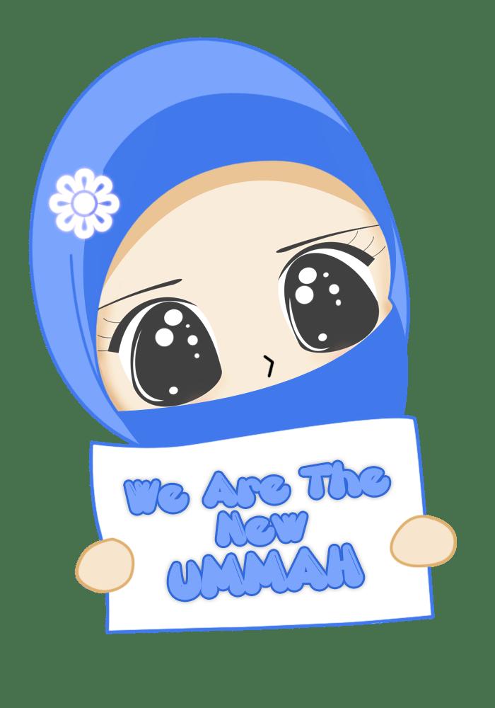 Chibi muslimah  Nurul Hanifah R
