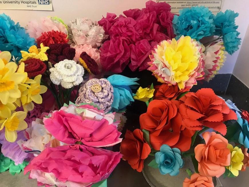 F22 Paper Flowers