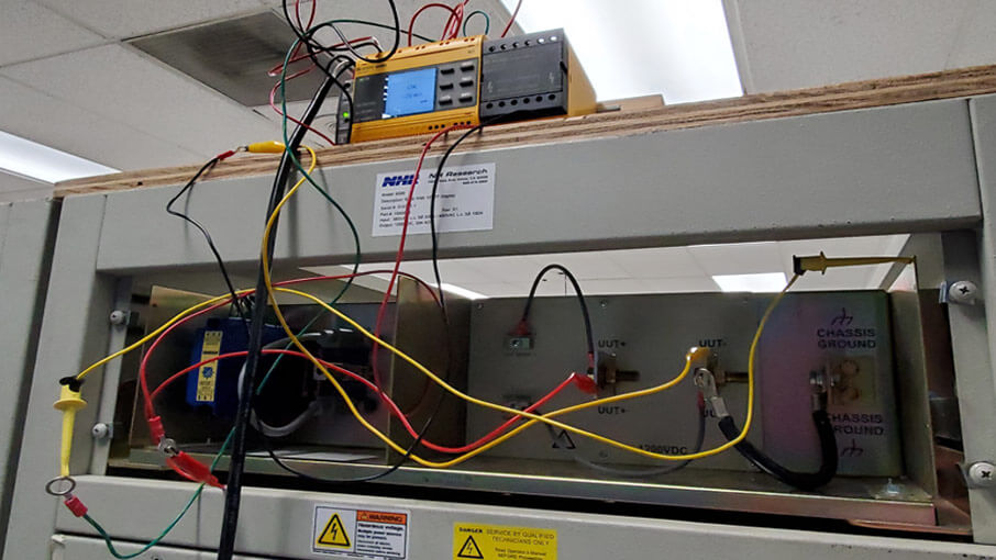 NH Research Increases Insulation Resistance for 9300 Battery Test Systems