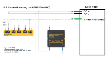 Diagram: 9300 Bender ISO 685 Connected - NH Research