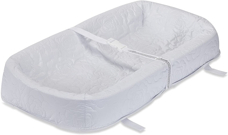 LA Baby Waterproof 4 Sided Cocoon Style Changing Pad