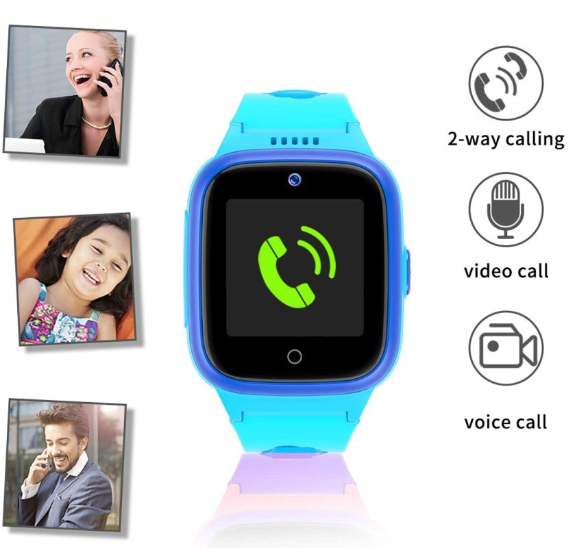Vowor 4G Smartwatch for Kids with Sim Card