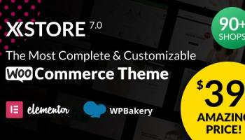 XStore WooCommerce WordPress Theme Responsive Multi-Purpose