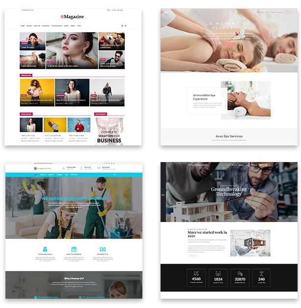 Avas Elementor WordPress Theme welcome