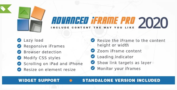 Advanced iFrame Pro WordPress plugin