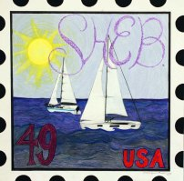 USPS Postage Stamp by Karly