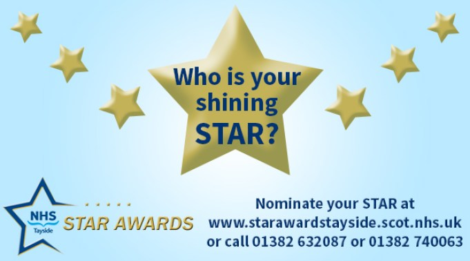MAIN Nominate your NHS Tayside STAR
