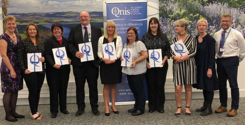 28-08-18 Perth and Kinross nurses honoured for commitment to their community
