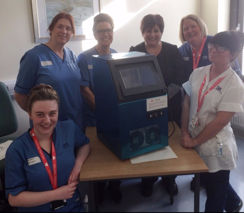 Check it out - Ice machine donated to ward 1