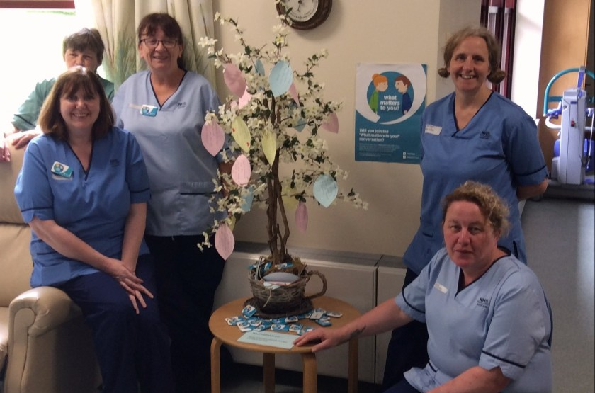 MAIN Tayside staff ask 'What matters to you' - Crieff Community Hospital