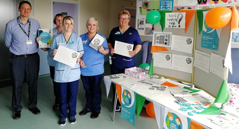 MAIN Tayside staff ask 'What matters to you' - PRI Tay ward