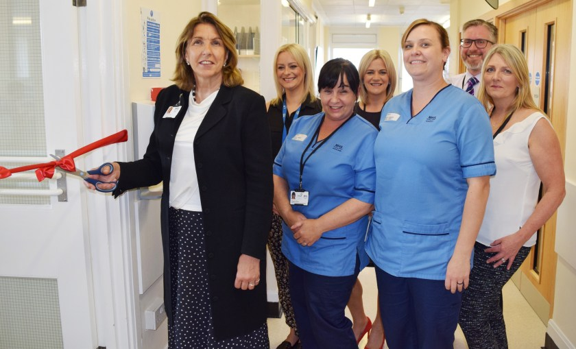 MAIN Official opening of refurbished departments at Dundee Dental Hospital (1)