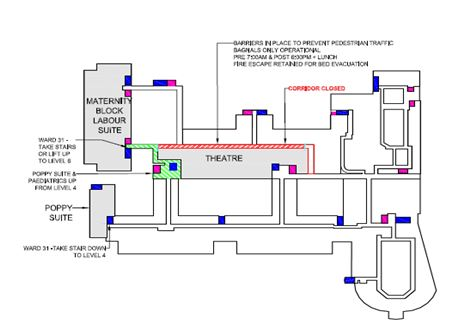 SIDE Children's Theatre Suite and NICU projects – next phase of building works - level 5