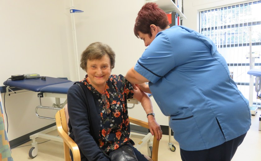 MAIN Forfar and Kirriemuir patients offered a final 'catch up' flu vaccination clinic