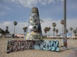 Graffiti at Venice Beach, CA