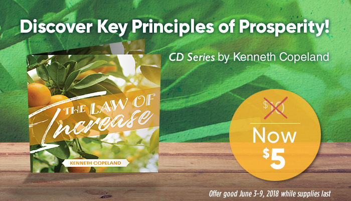 The Law of Increase CD series by Kenneth Copeland