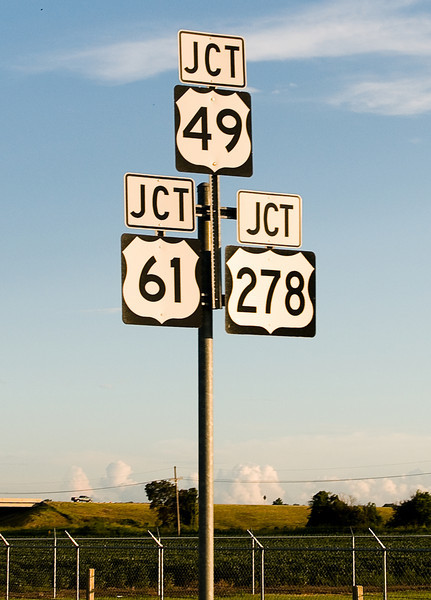 Robert Johnson's deal with the devil supposedly took place at the crossroads of Highways 49 and 61 – the same 61, in fact, that links Bob Dylan's Minnesota hometown with Canada