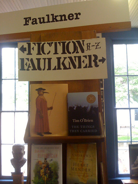 Square Books in Oxford, Mississippi: Where Faulkner outranks fiction 2:1