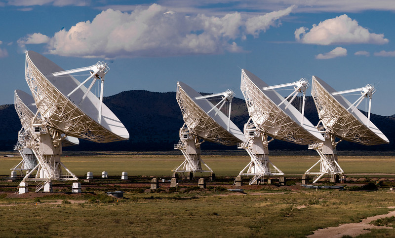 The heart of the Very Large Array