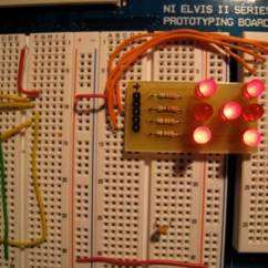 Led Circuit Diagram Electric Fan Relay Wiring Lesson 11 - Digital Dice National Instruments