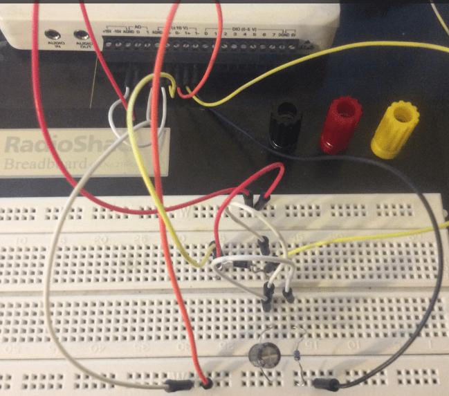 Figure 1 Full Wave Rectifier Circuit Diagram