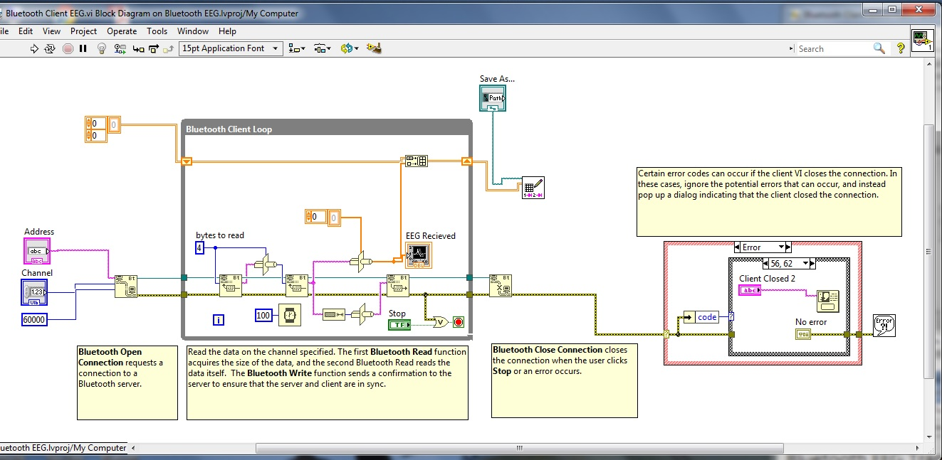 problem with labview bluetooth communications discussion forums national instruments [ 1323 x 647 Pixel ]